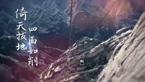 纪言纪行 渭河平原海拔330-400米 华山海拨2154.96米