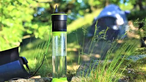 能自己造水的杯子,有了它再也不怕缺水了!