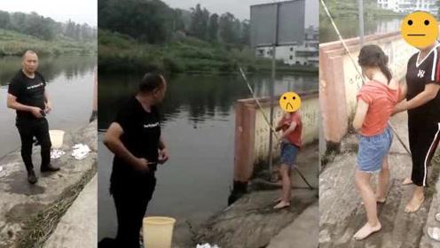 正能量!女孩失足落水,副镇长村民接力跳水救人