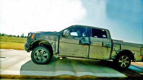 汽车连过100个减速带会怎样?福特皮卡挑战,真猛士不畏艰险!