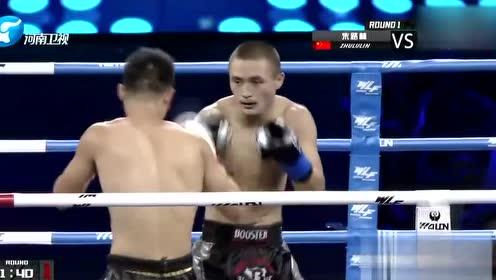 男子61公斤级对决:朱路林VS巴特尔
