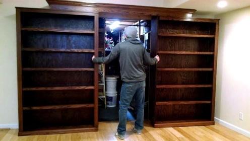 老外设计出隐身的门,有时自己都会找不到,网友:再也不怕小偷了