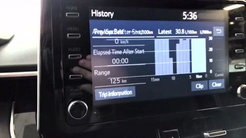 2019款美版卡罗拉Hatchback CVT SE到店实拍