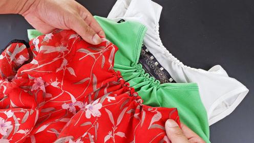衣服领子试试这样缝,大改小简单搞定,老裁缝都夸聪明,一学就会