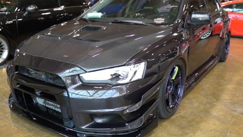 10款三菱Lancer Evolution X GSR实拍!