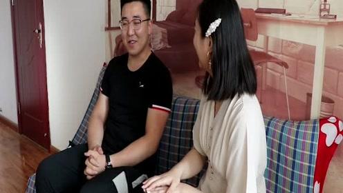 美女和小伙相亲,两人的对话真有意思,看一遍笑一遍!
