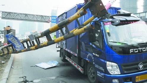 大货车车主躲得过限行却躲不过限高杆,这问题该如何解决?