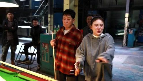 《加油,你是最棒的》花絮:邓伦河北商演被绑 打台球挑大佬