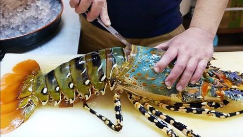 日本最受欢迎的炫彩龙虾,600美元一份?