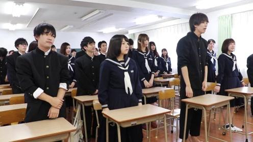 日本高等学校班级大合唱,这老师也太帅了吧!