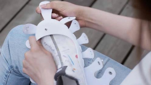 4双极具创意的鞋,第2个有上万种搭配,出门再不怕撞鞋