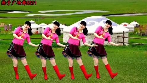 藏族广场舞《噢呀!锅庄》草原歌曲,歌声大气豪迈,好听又好看
