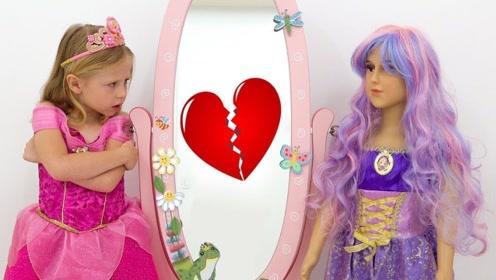 萌宝的友情大危机,他们因公主装扮而吵架,看他们如何化解和好!
