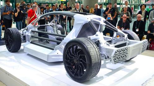 全球首款3D打印跑车,700匹马力2.2秒破百,这你敢坐?