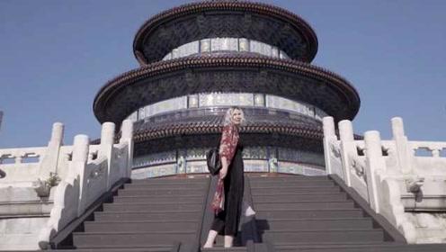 """""""谢谢你,中国""""!英国姑娘制作精美视频展现中华之美"""