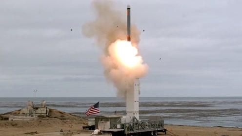 美国试射《中导条约》限制导弹画面曝光!《中导条约》失效仅两周
