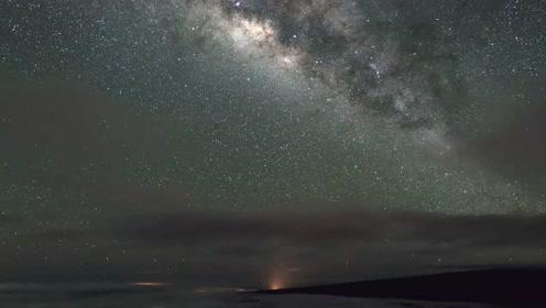 莫纳克亚的壮丽星空
