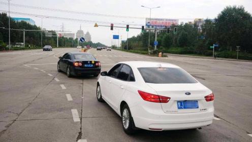 新手开车遇到左转待转区,这样走就不怕走错扣分了