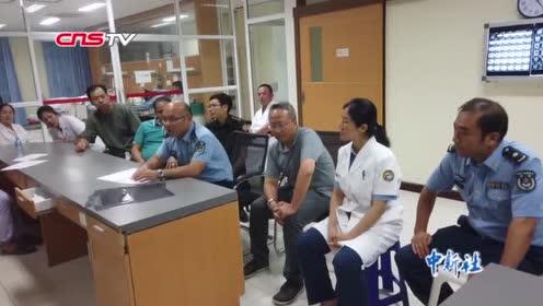 """""""和平列车""""医疗队专家紧急会诊老挝车祸伤员计划将其转运回国"""