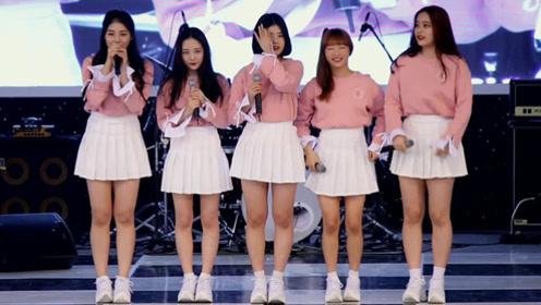 平均体重60KG女团引争议 队长因酷似'胖版雪炫'爆红