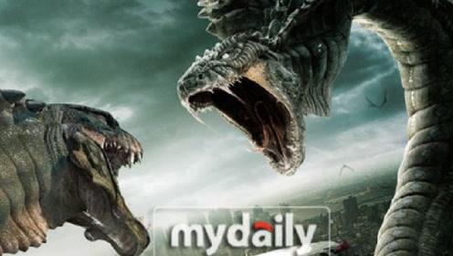 蟒蛇吞了龙珠和美女一起飞天变龙,恶斗巨蟒,网友:谁还敢吃长虫