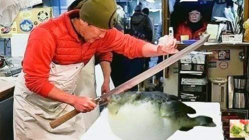 日本刺身果然名不虚传,现做端上桌还能动,网友:敢看不敢吃!
