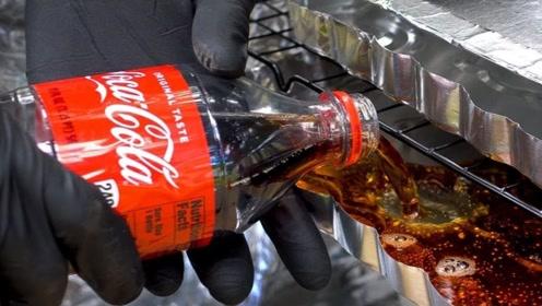 将可乐烘干,真能得到可乐配方吗?老外试验,结果很意外