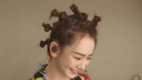 羡慕戚薇的爱情 羡慕她的发量更羡慕她的发型