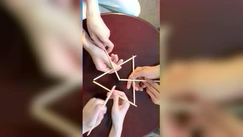 筷子也能玩出新花样