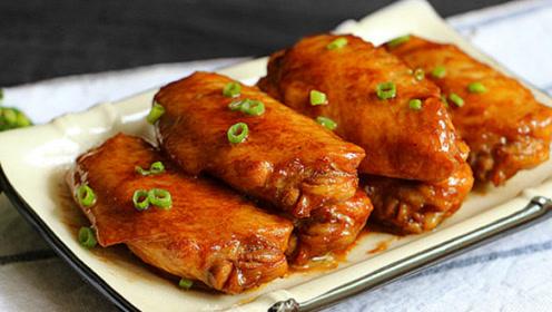 减肥菜谱,不用一滴油做出外酥里嫩的蒜香鸡翅!超低卡减肥食谱