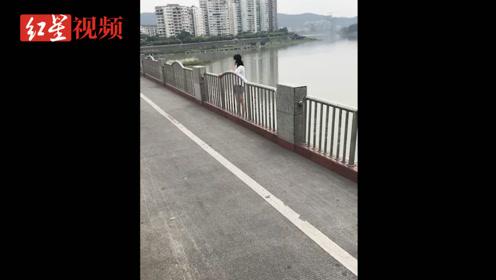 12岁女孩和婆婆吵架后欲跳河轻生 民警、消防近一小时成功救下