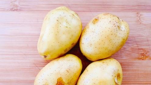 土豆这样做真好吃,不炒不凉拌软滑筋道,比吃肉都香,上桌抢着吃