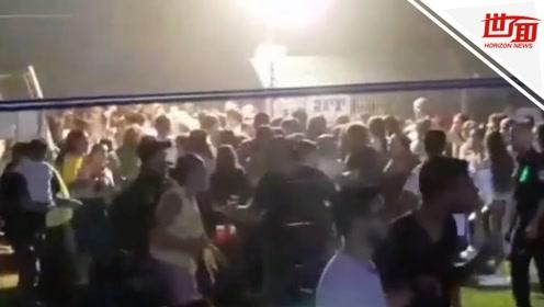 夜袭!以色列正开音乐节 不料火箭弹从天而降