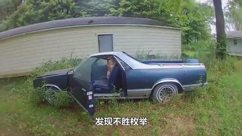 """惊人!野外废弃汽车人发现巨型""""宝贝""""随时可以致人死亡"""