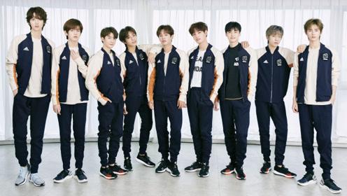UNINE男团九个小哥哥,同款adidas VRCT系列!