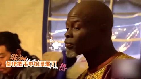 非洲演员在西安拍戏,后台疯狂吐槽天气:中国太热我要回非洲