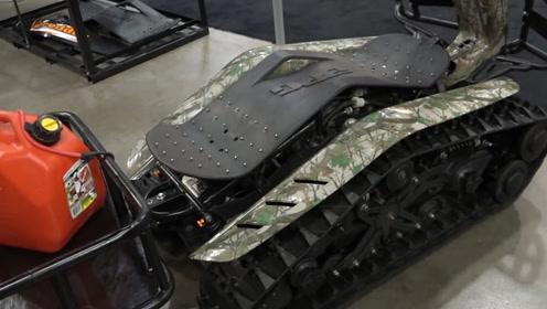 最牛的平衡车,全地形随便跑,外形酷似坦克