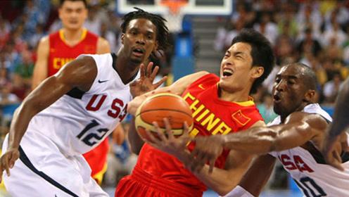 陈江华过科比!中国男篮北京奥运首战你还记得多少?
