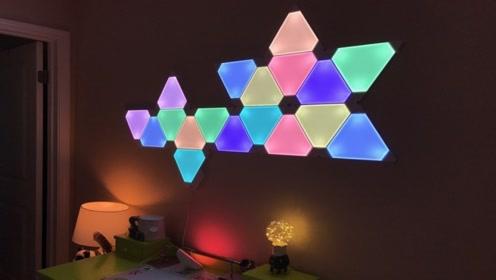 打破常规照明方式,灯的形状可以自己设计,装修就用它了
