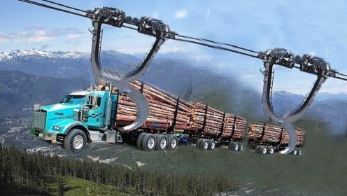 高新技术下这些卡车可登几千米高山,下可入千米深地底,让人佩服