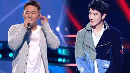 陈润秋王力宏同台演唱《第一个清晨》,哪个暖男的歌声更能打动你