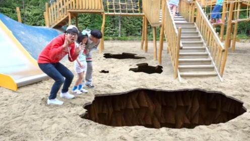 小萝莉和哥哥在游乐园玩乐,不料天降大雷,兄妹穿越到了动物世界