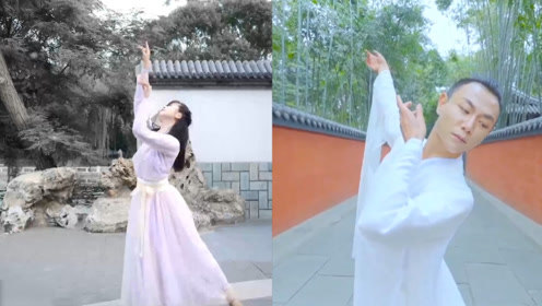 汉服古典舞蹈《桃花债》帅哥美女尽展中国古风美