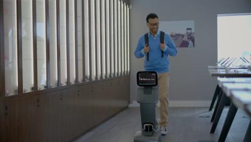 机器人Temi既可以是你生活中的朋友,也可以是你出色的助理