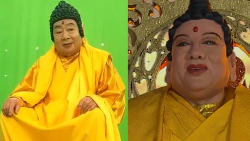 80岁朱龙广再扮如来佛祖,时隔33年仍有当年风采