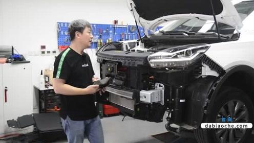 威马EX5防撞梁拆解,看看这辆车品质如何?