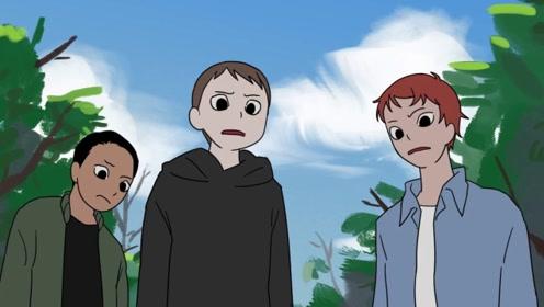 男孩去露营,半夜去帐篷外上厕所,却看见三个面相诡异的孩子!