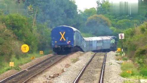 这些火车,真是神一样的存在着,让人大开眼界!
