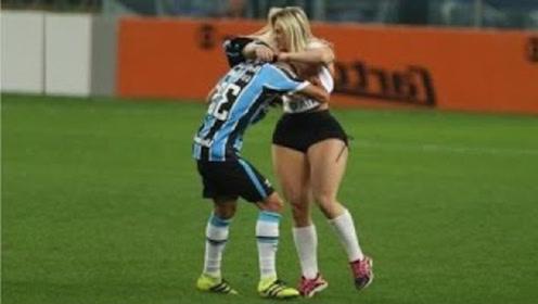 最有趣的足球时刻,疯狂的球迷闯进球场,国外的球迷真是疯狂