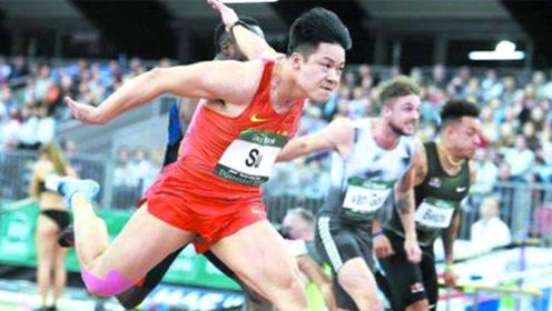 苏炳添击败世锦赛冠军,以6.42秒霸气夺冠,速度快到模糊!